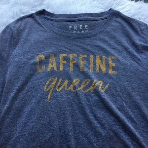 FREE STATE Caffeine Queen Novelty Colloquial XL